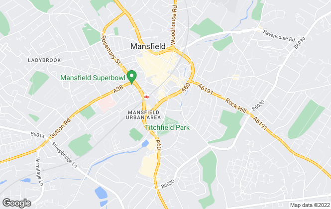 Map for Challenge, Mansfield