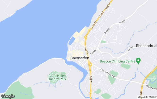 Map for Williams & Goodwin The Property People, Snowdonia & Gwynedd Area Office