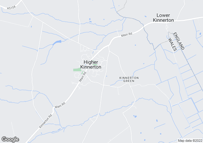 Map for Beeston Road, Higher Kinnerton