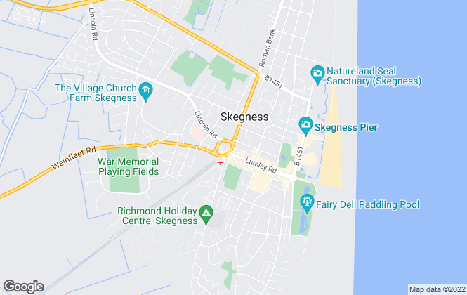 Map for William H. Brown, Skegness