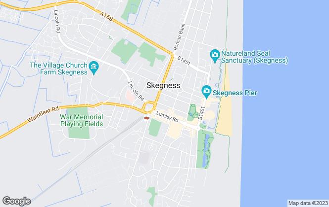 Map for Willsons, Skegness Commercial
