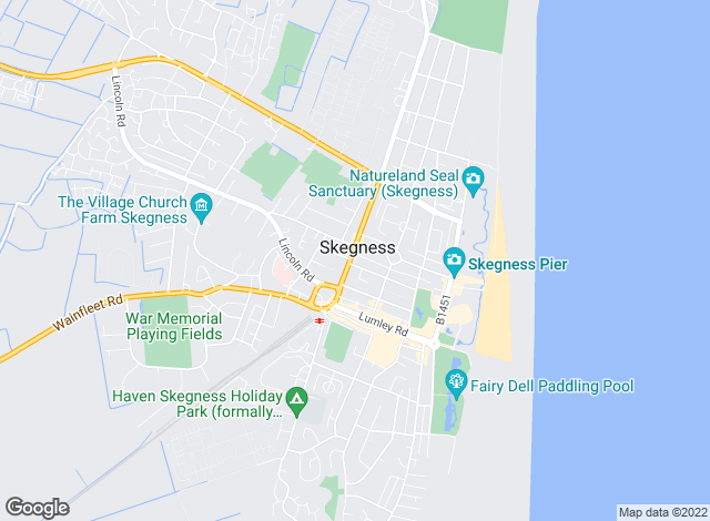Map for Turner Evans Stevens, Skegness