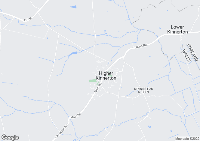 Map for Hunters Croft Higher Kinnerton