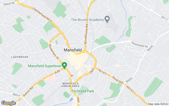 Map for BuckleyBrown, Mansfield