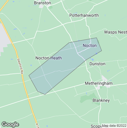Map of property in Nocton