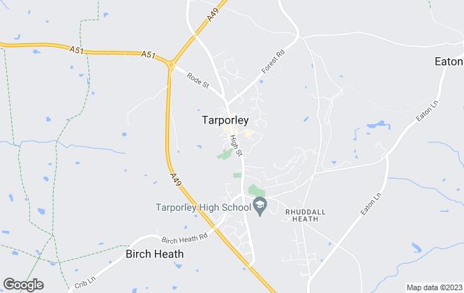 Map for Swetenhams, Tarporley