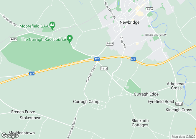 Map for Curragh, Kildare