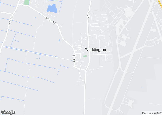 Map for High Street, WADDINGTON
