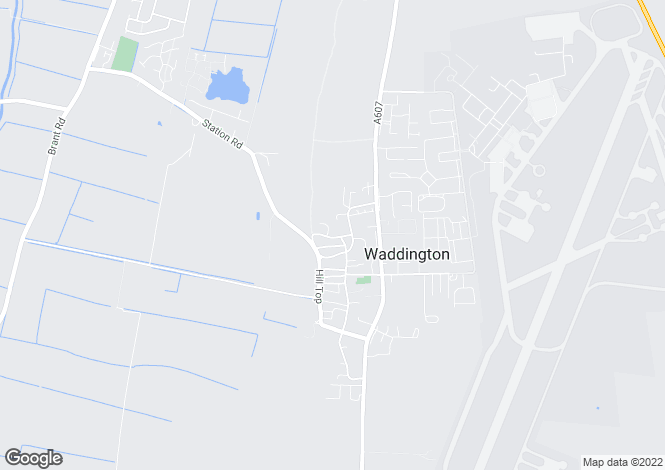 Map for Far Lane, Waddington
