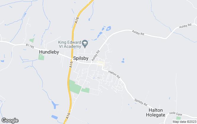 Map for Hunters-Turner Evans Stevens, Spilsby