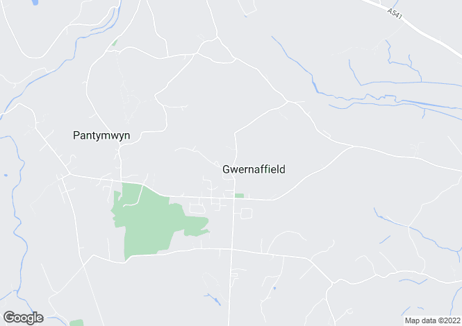 Map for Gwernafield