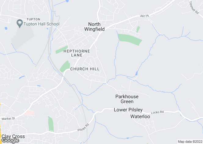 Map for Elton Close, North Wingfield, Chesterfield S42