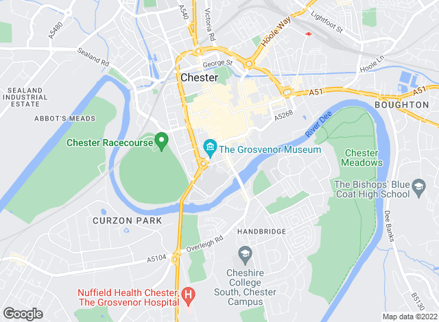 Map for Passion For Property Ltd, Chester