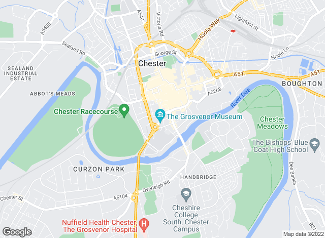 Map for Cavendish Rentals Ltd, Chester - Lettings