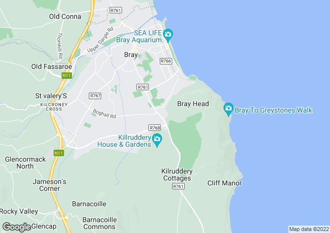 Map for 29 Briar Wood, Bray, Co. Wicklow