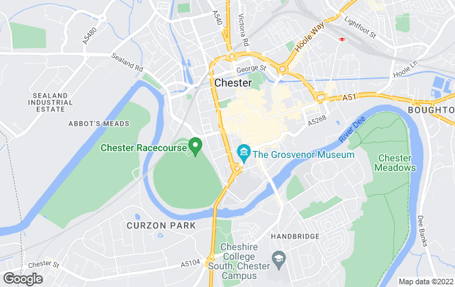 Map for Jackson-Stops, Chester