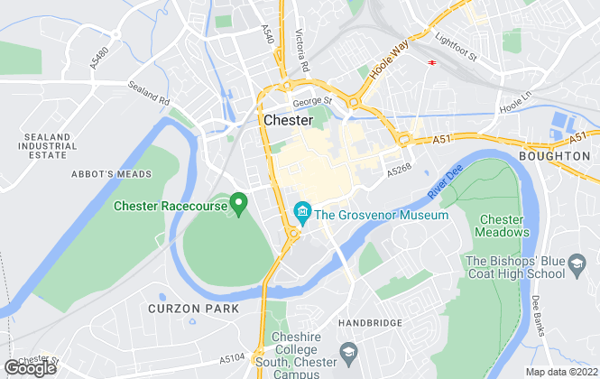 Map for Thomas C Adams, Chester