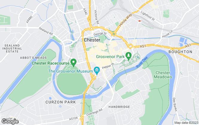 Map for Rickitt Partnership, Chester