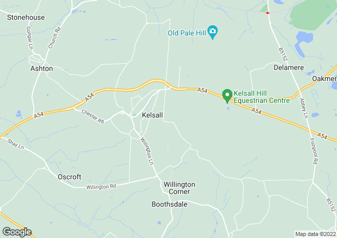 Map for Kemari, Waste Lane, Kelsall