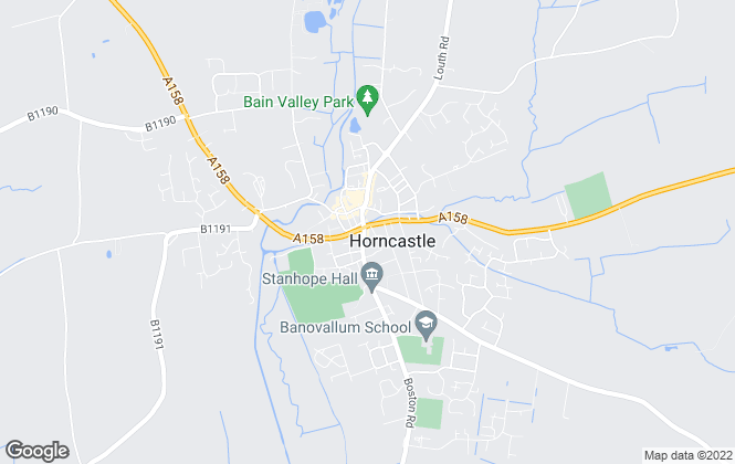 Map for Walters Estate Agents, Horncastle