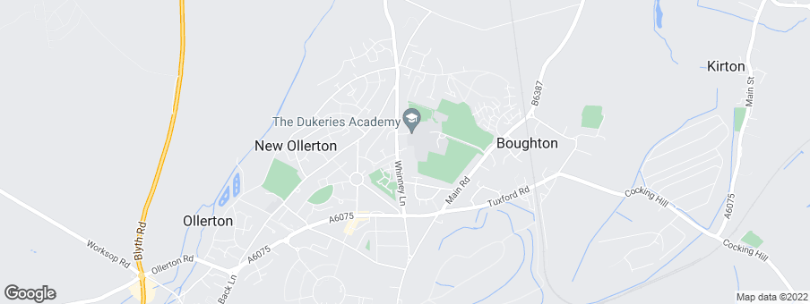Map for Gleeson Homes (South Yorkshire North Midlands)