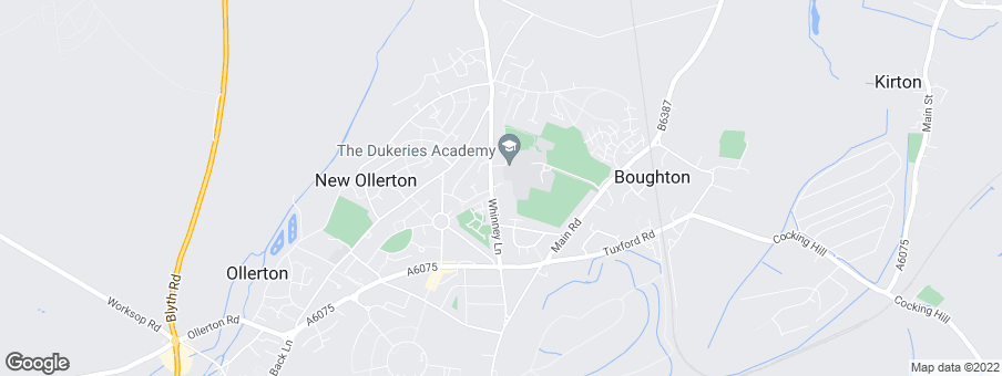 Map for Gleeson Homes (Midlands)