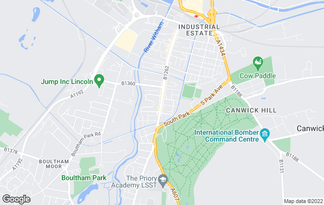 Map for Base Lettings & Management, Lincoln
