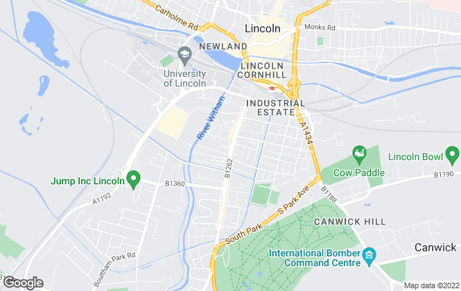 Map for The New Homes Agent, Lincoln