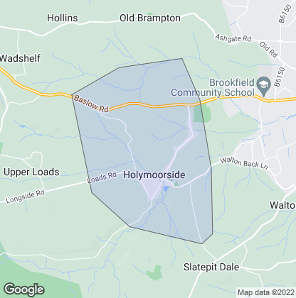 Map of property in Holymoorside