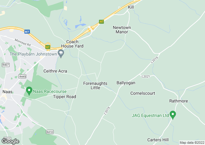 Map for Furness, Naas, Kildare