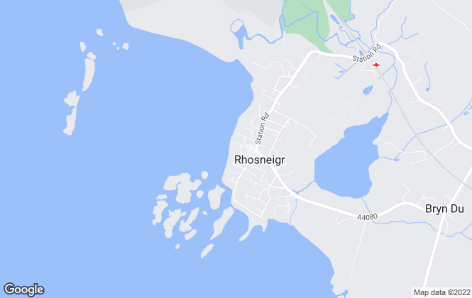 Map for Rhosneigr Property, Rhosneigr
