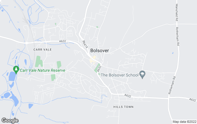 Map for Wilkins Vardy Residential, Bolsover