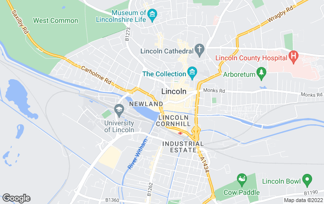 Map for Your Move , Lincoln