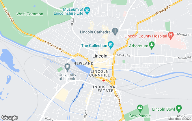Map for The County Property Auction, Lincoln