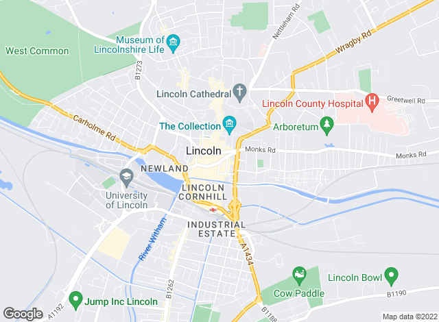 Map for Starkey & Brown, Lincoln - Sales