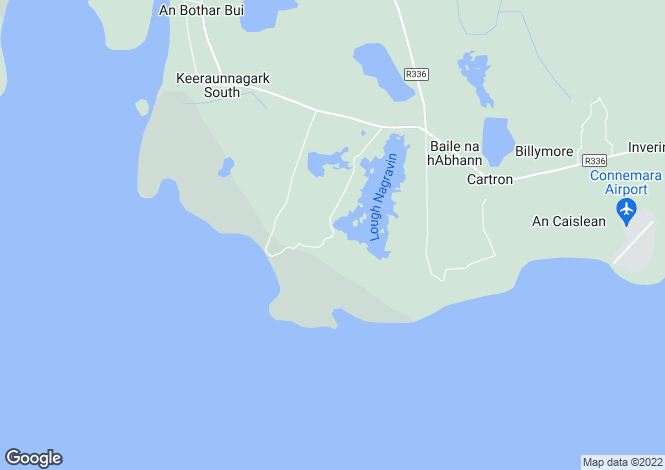 Map for CLOUGHMORE, BALLYNAHOWN, CONNEMARA, CO. GALWAY.H91 TK7X