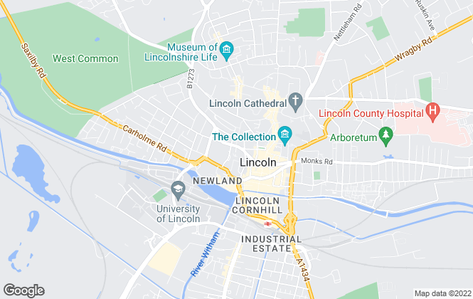 Map for Lockwood Property Management , Lincoln