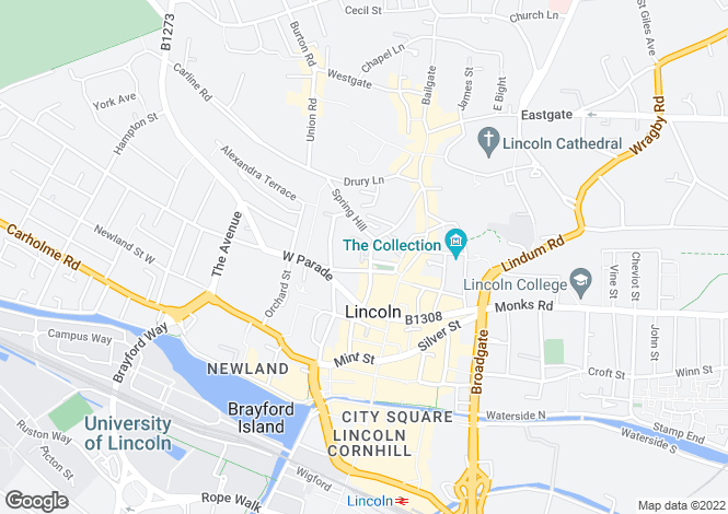 Map for Cordage Court, Lincoln, Lincolnshire