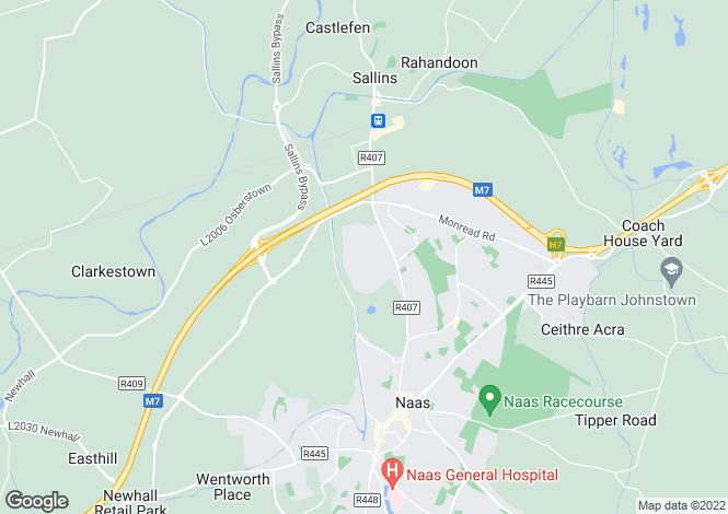 Map for The Heron, Landen Park, Oldtown Demesne, Naas, Co Kildare