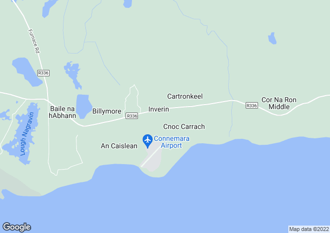 Map for Galway, Inveran