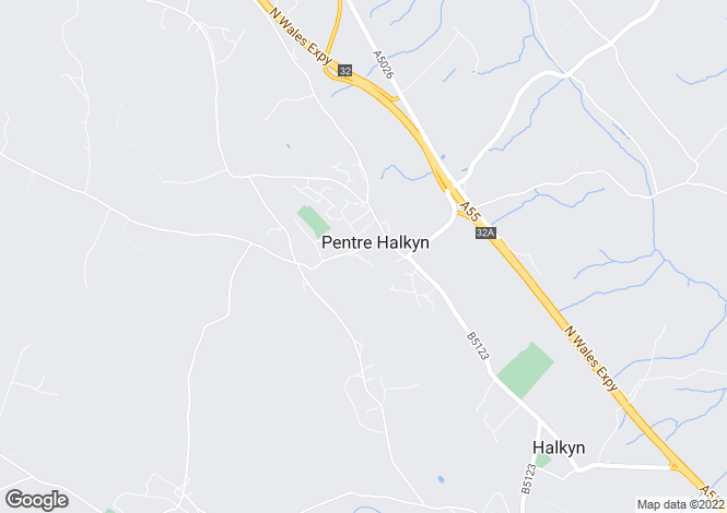 Map for Pentre  Halkyn