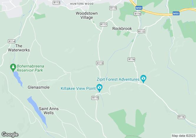 Map for Dromkeen, Kilakee Road, Rathfarnham, Dublin 16, Rathfarnham, Dublin 16