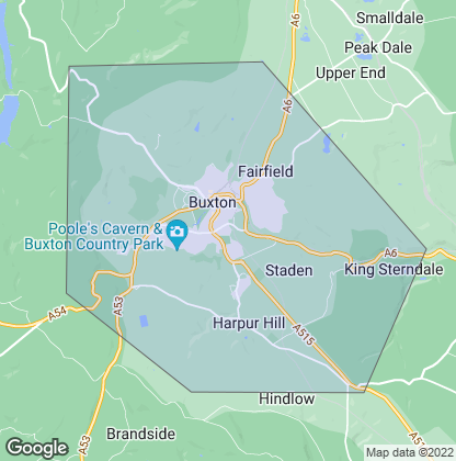 Map of property in Buxton