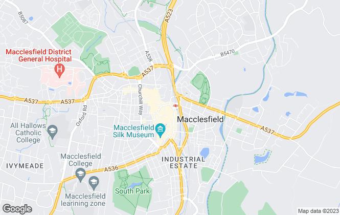 Map for Janhill Estates Ltd, Cheshire