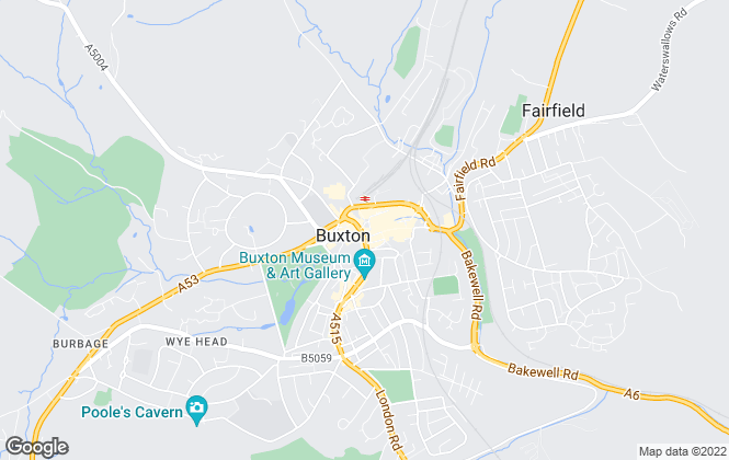 Map for Howard Crowther Estate Agents & Property Management, Buxton