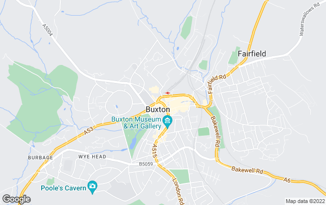 Map for Wright Marshall Estate Agents, Buxton - Commercial