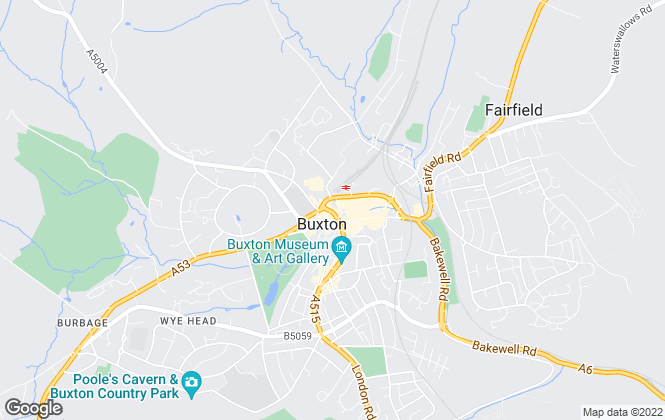 Map for Key Online Sales, Buxton - Sales