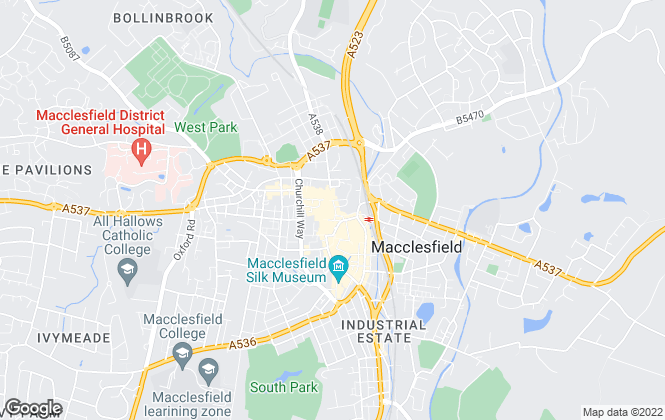 Map for Bridgfords Lettings, Macclefield - Lettings