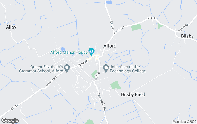 Map for Choice Properties, Alford