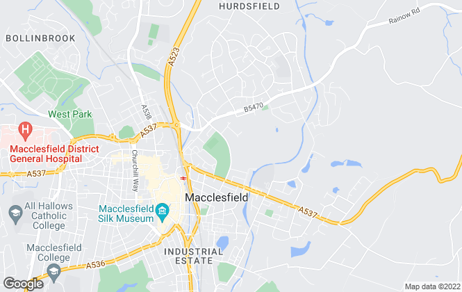 Map for Armadillo Self Storage, Armadillo Macclesfield